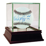 "Wade Boggs Autographed MLB Baseball w/ ""HOF 05"" Insc. (MLB Auth)"